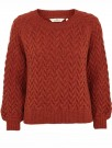 Basic Apparel Red Rust Emma Sweater thumbnail