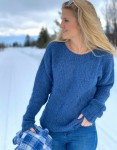 Noella Denim Blue Kala Knit Sweater