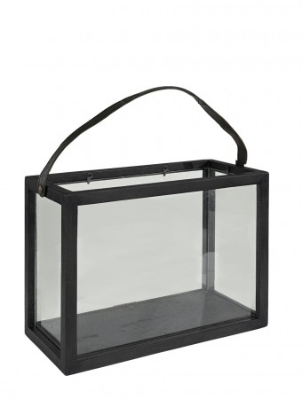 Artwood Lantern Double Black