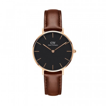 Daniel Wellington Rose Gold Classic St Maves Black