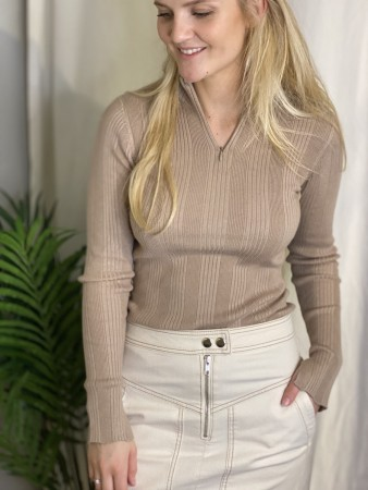 Camilla Pihl Camel Sole Sweater