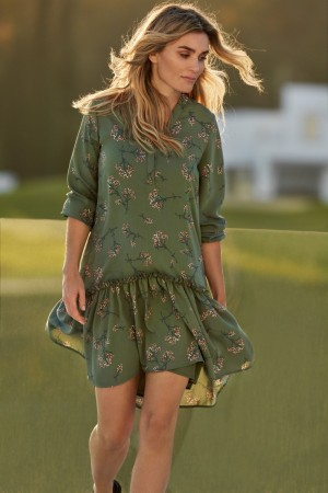 Camilla Pihl Army Flower Slow Dress