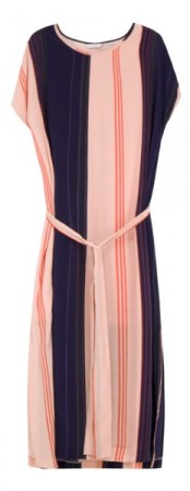 Holzweiler Peach Stripe Haram Dress