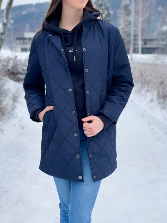 Basic Apparel 359 Navy Laura Jacket