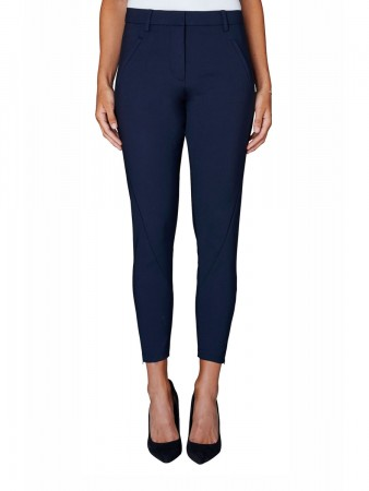 Fiveunits Navy Jeggin Angelie 238 Zip Pants