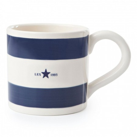 Lexington Blue Earthenware Mug