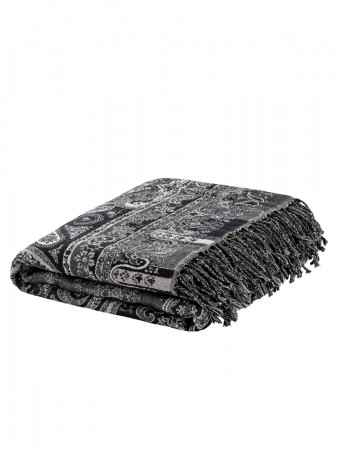 Artwood Eroz Throw Paisley Light Grey