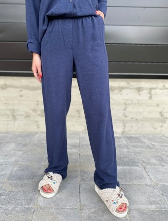 Basic Apparel Navy Trine Pants
