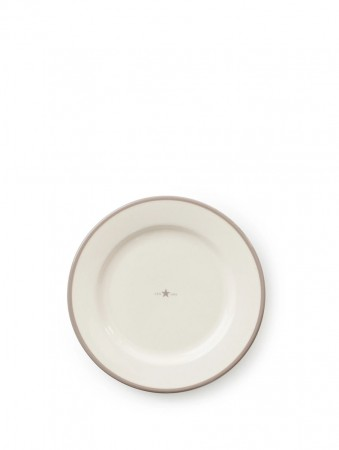 Lexington Beige Earthenware Dessert Plate