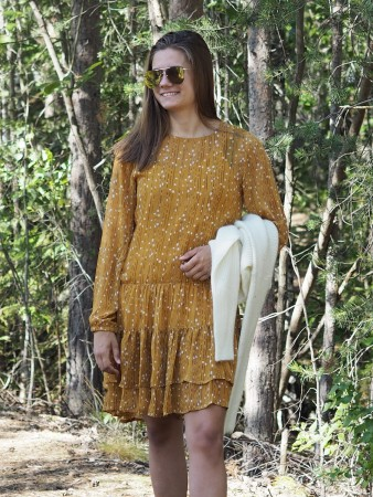 Lollys Laundry 57 Mustard Piper Dress