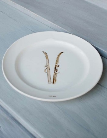 Chehoma Hvit - Small Plate Ski 210mm