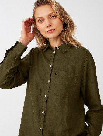 Lexington Green Isa Linen Shirt