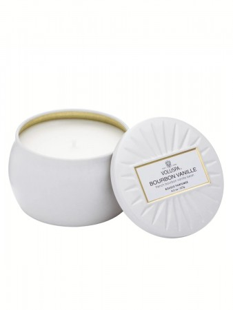 Voluspa White Voluspa Bourbon Vanille  B:7 H:5cm