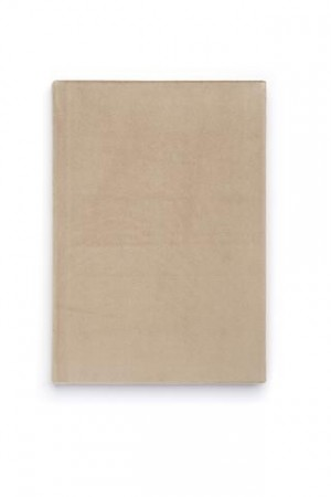 Dark Sand Notebook A5 Velur