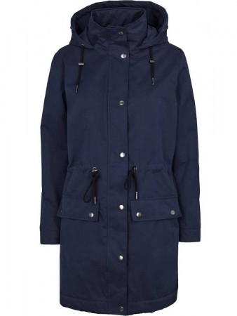 Basic Apparel Navy Agatha Jacket