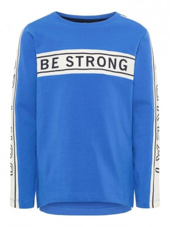 Name It Strong Blue Nmmdanny Ls Top