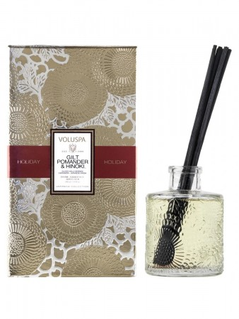 Voluspa Gilt Pomander&hinoki Reed Diffuser 100ml