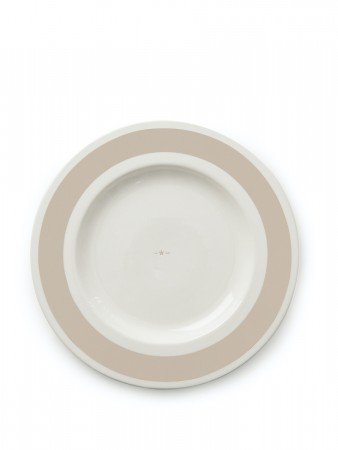 Lexington Beige Earthenware Platter