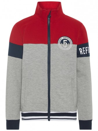 Name It Grey Melange Nkmomri Ls Sweat Card  Bru
