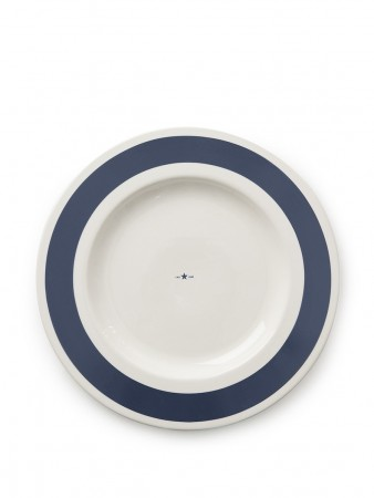 Lexington Blue Earthenware Platter