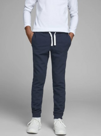 Jack & Jones Navy Blazer Jjeholmen Sweat Pants Jr