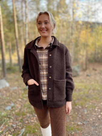 Noella Brown Viksa Jacket Wool