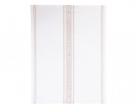 Lexington White/beige 50x70 Star Kitchen Towel
