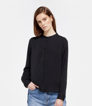 Msch Black Luella Polysilk Shirt