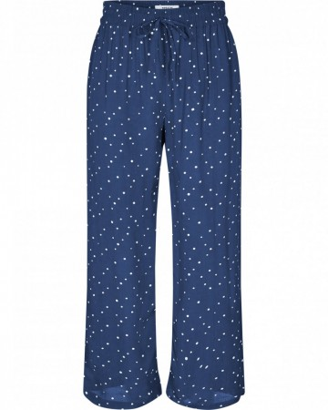 Msch Midnight Navy Dot Life Pants Aop