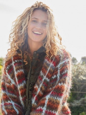 Les Tricots D'o Multicolor Cardigan Squared
