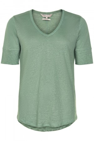 Part Two Granite Green Curly Ts