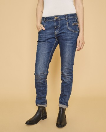 Mos Mosh Blue Denim Nelly Favourite Jeans
