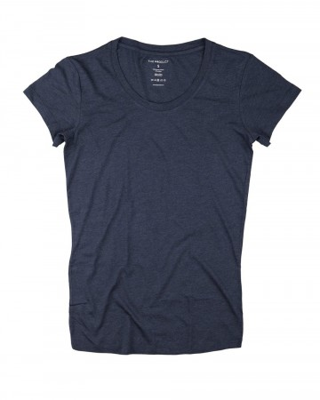 The Product 80 Blue Melange Wmn T-shirt