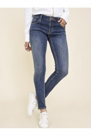 Mos Mosh Blue Denim Sumner Favourite Jeans