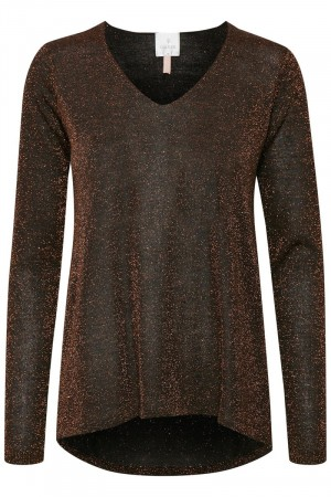Culture Copper Anne Mette V-neck