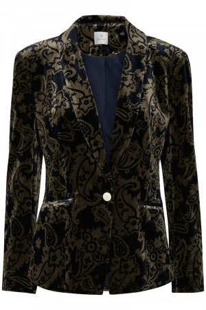Culture Blue Iris Abbie Blazer