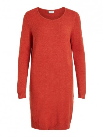 Vila Ketchup Viril L/s Knit Dress