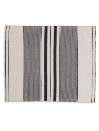 Lexington White Striped Placemat 40x50