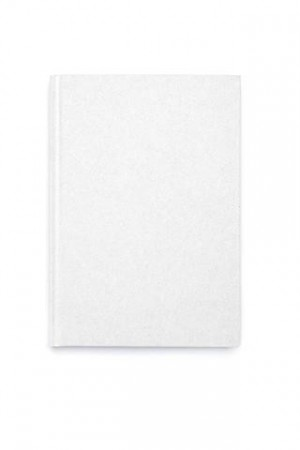 Dark White Notebook A5 Glitter