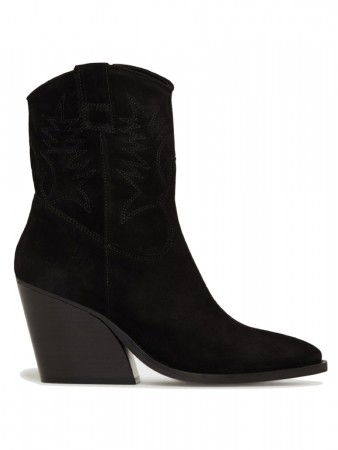 Pavement Black Suede 017 Abbie