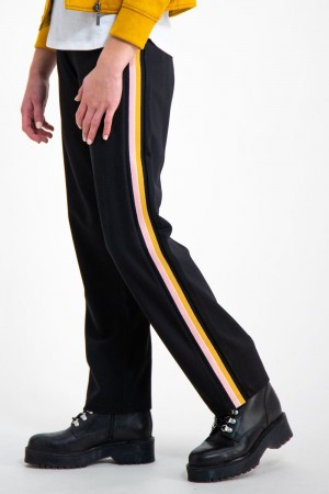 Garcia Black Gg - Pants Non Denim