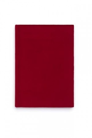Dark Red Notebook A5 Velur
