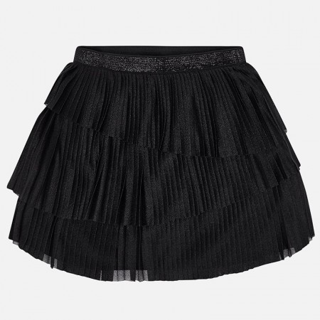 Mayoral Black Pleaded Skirt