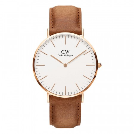 Daniel Wellington Rose Gold Classic Durham Black