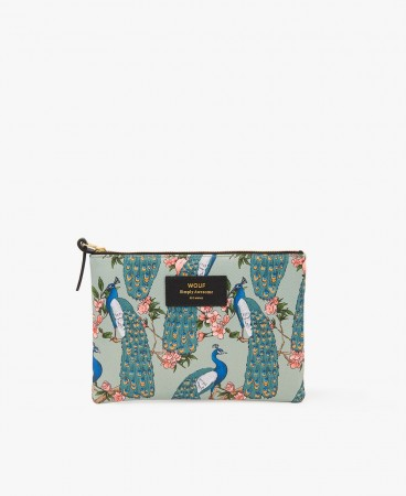 Wouf Green Royal Forrest L Pouch