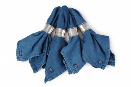 Lexington Denim Blue 50x50 Living Jeans Napkin