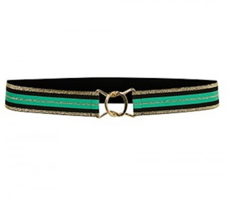 Culture Black/green Chic Belt