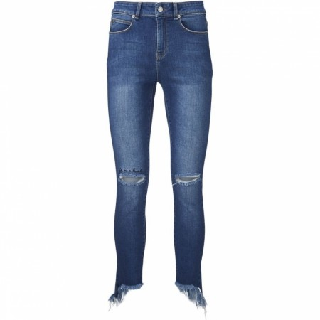 Ivy Copenhagen 51 Denim Blue Alexa Distressed Saint Denis