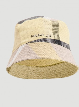 Holzweiler Yellow Check Pafe Buckethat Check