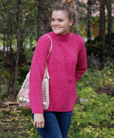 Basic Apparel 334 Pink Yarrow Nille